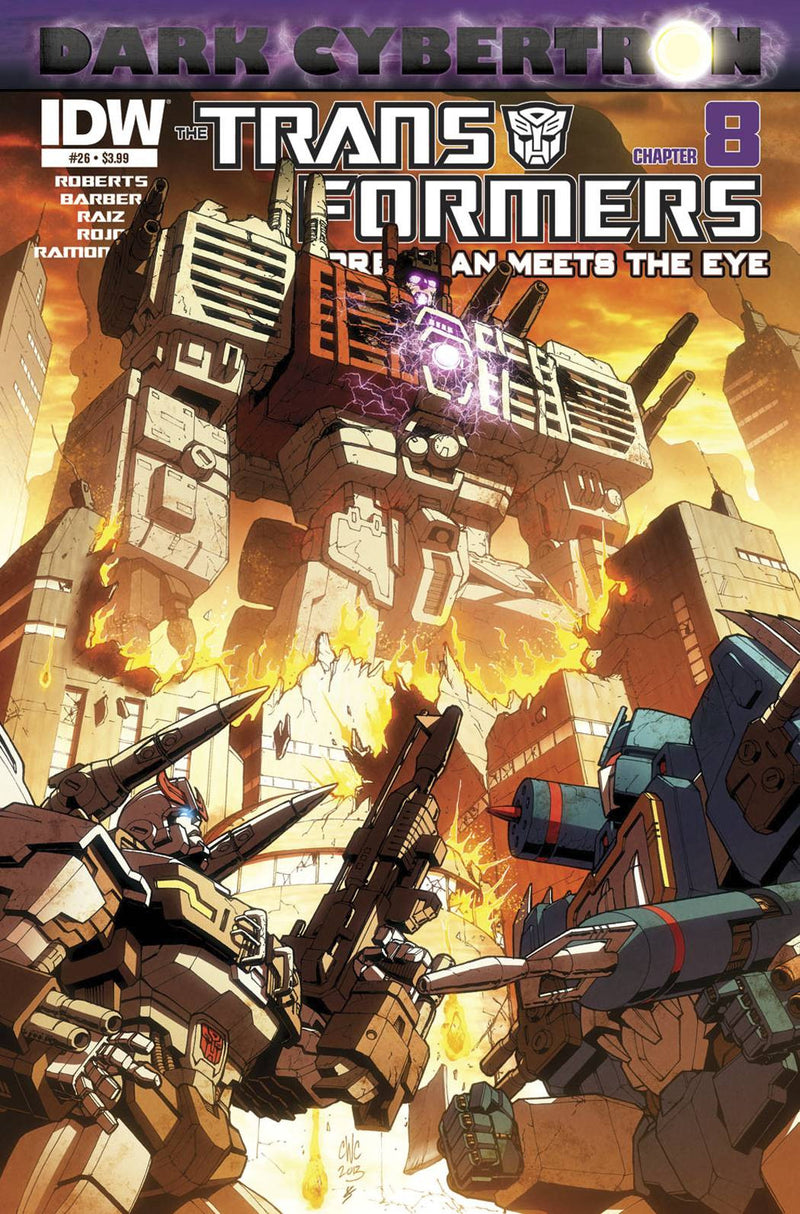 TRANSFORMERS: MORE THAN MEETS THE EYE #26: DARK CYBERTRON PART 8 (OF 12)