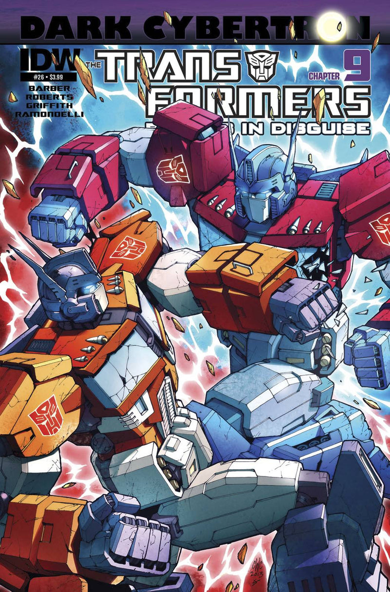 TRANSFORMERS: ROBOTS IN DISGUISE #26: DARK CYBERTRON PART 9 (OF 12)
