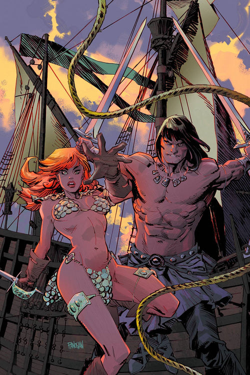 CONAN RED SONJA #2 (OF 4)