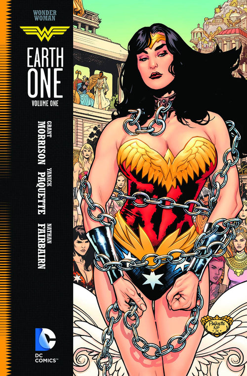 WONDER WOMAN EARTH ONE VOL. 1 HC
