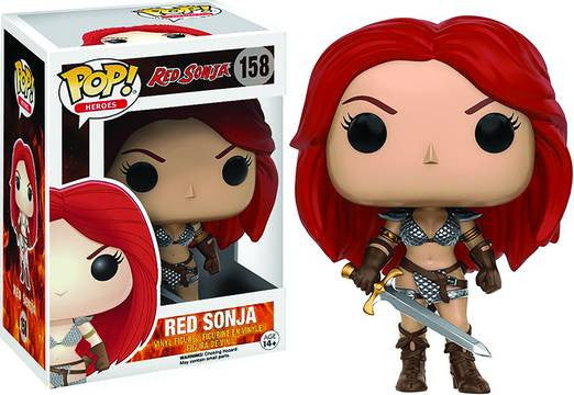 POP RED SONJA VINYL FIGURE