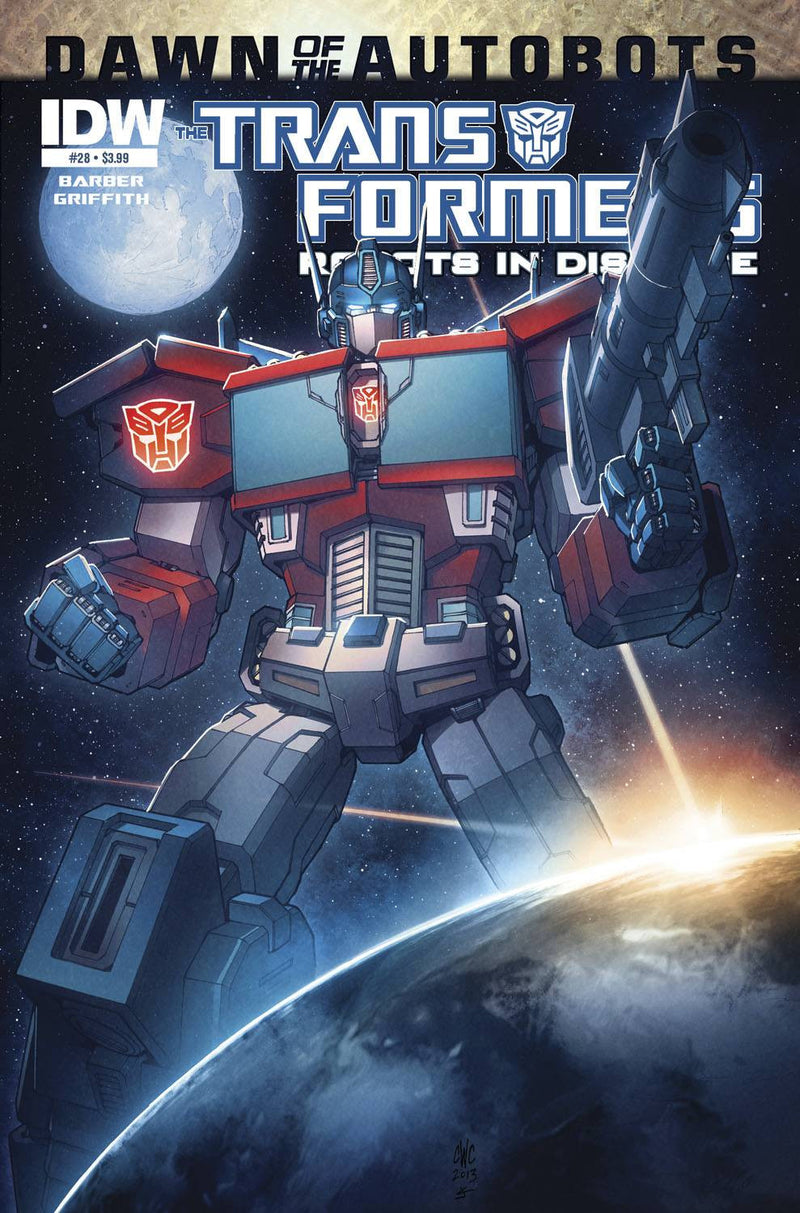 TRANSFORMERS: ROBOTS IN DISGUISE #28: DAWN OF THE AUTOBOTS