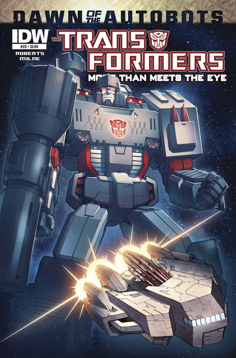 TRANSFORMERS: MORE THAN MEETS THE EYE #28: DAWN OF THE AUTOBOTS