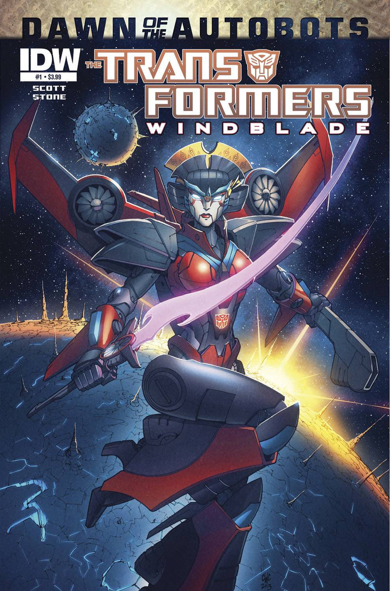 TRANSFORMERS: WINDBLADE #1 (OF 4): DAWN OF THE AUTOBOTS