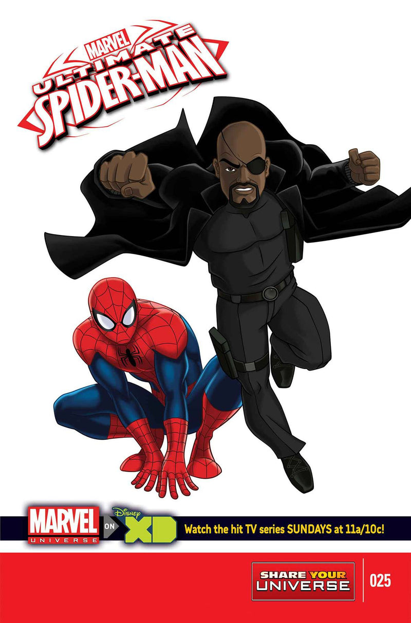 MARVEL UNIVERSE ULTIMATE SPIDER-MAN #25