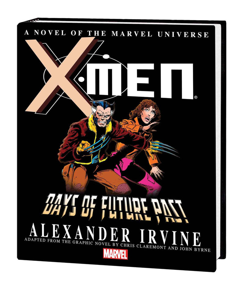 X-MEN: DAYS OF FUTURE PAST PROSE NOVEL HC