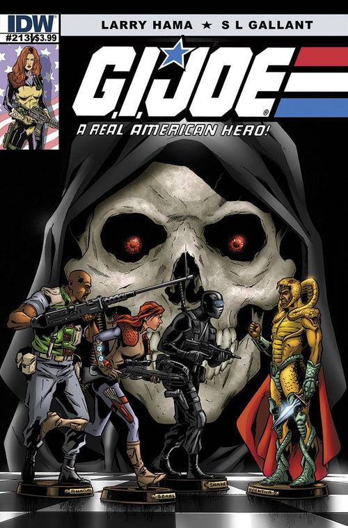 G.I. JOE: A REAL AMERICAN HERO #213—THE DEATH OF SNAKE EYES: PART 2