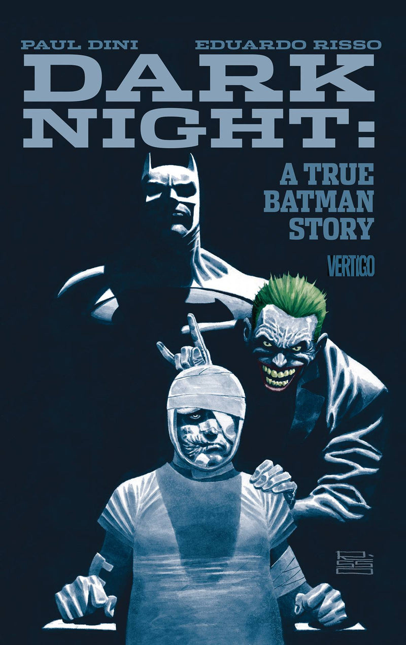 DARK NIGHT: A TRUE BATMAN STORY HC
