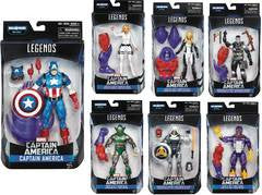CAPTAIN AMERICA: CIVIL WAR 6-INCH LEGENDS ACTION FIGURES