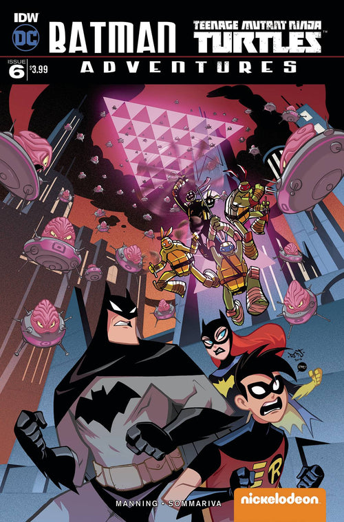 BATMAN TMNT ADVENTURES #6 (OF 6)