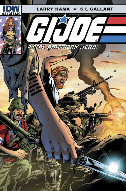 G.I. JOE: A REAL AMERICAN HERO #212—THE DEATH OF SNAKE EYES PART 1