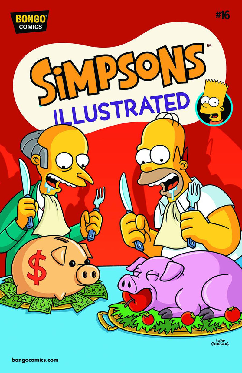 SIMPSONS ILLUSTRATED #16