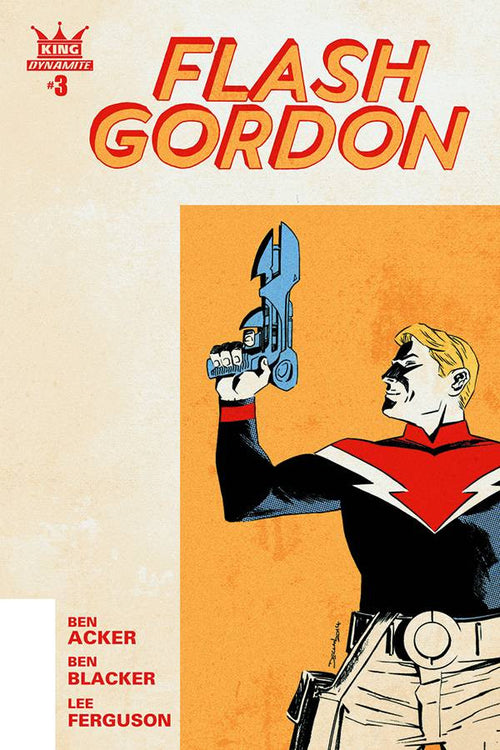 KING: FLASH GORDON #3 (OF 4)