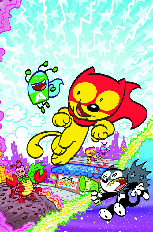 AW YEAH COMICS: ACTION CAT! #1 (OF 4)
