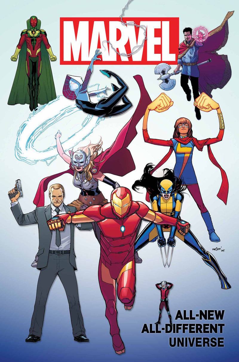 ALL-NEW, ALL-DIFFERENT MARVEL UNIVERSE