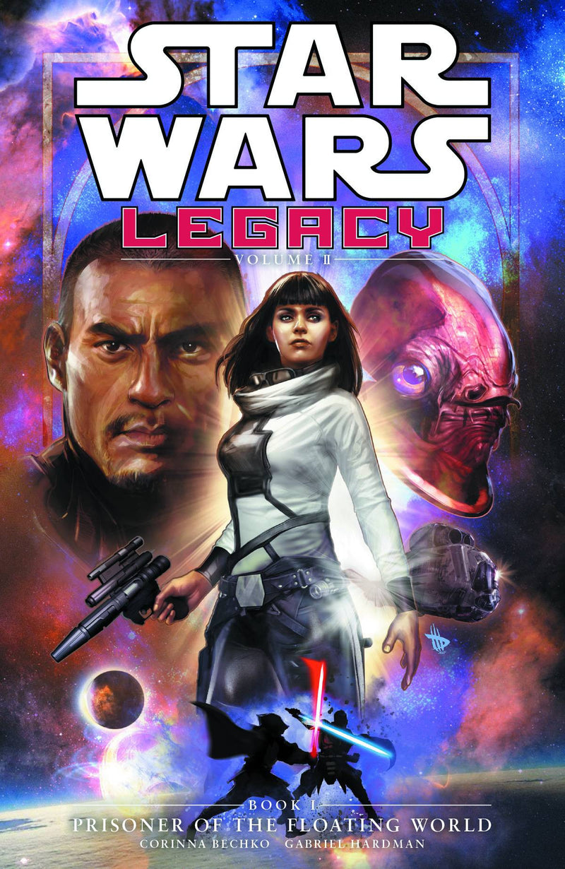 STAR WARS: LEGACY VOLUME II BOOK 1—PRISONER OF THE FLOATING WORLD TP