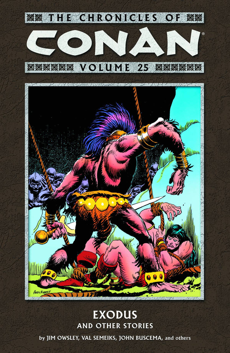 THE CHRONICLES OF CONAN VOLUME 25: EXODUS AND OTHER STORIES TP