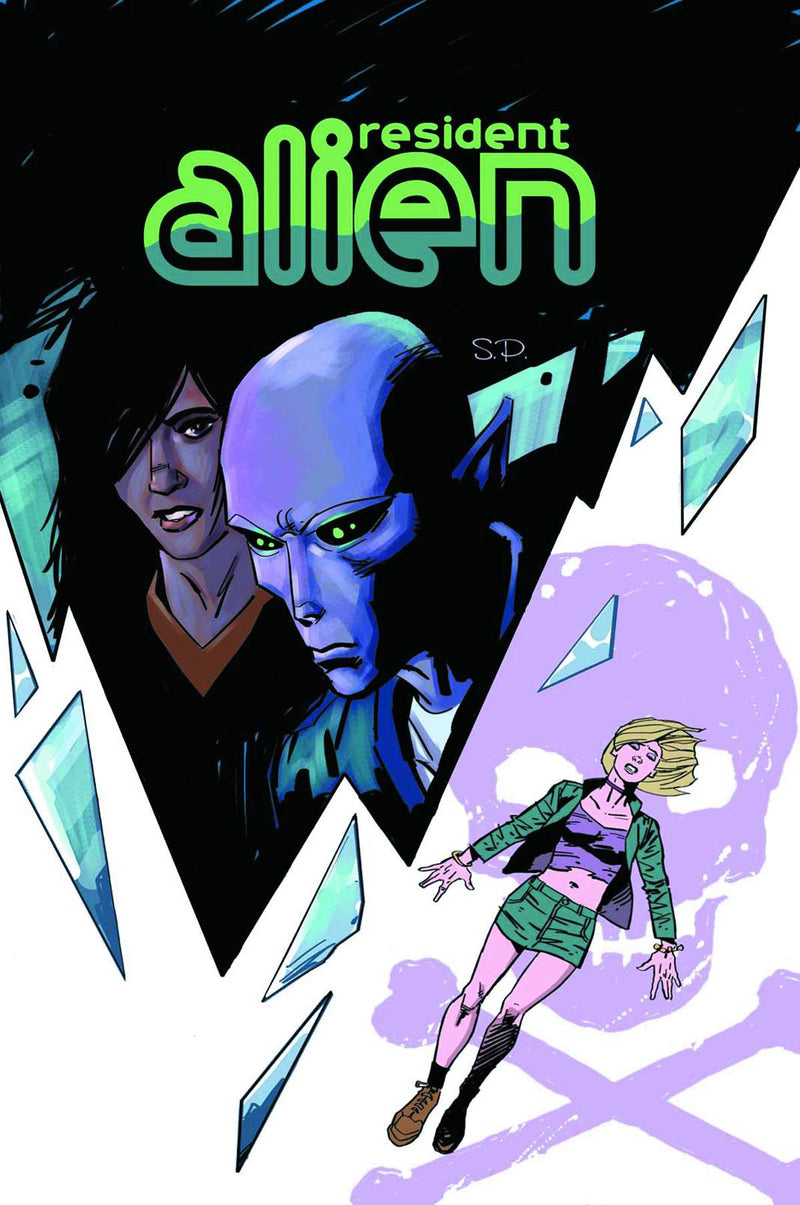 RESIDENT ALIEN: THE SUICIDE BLONDE #1 (OF 3)