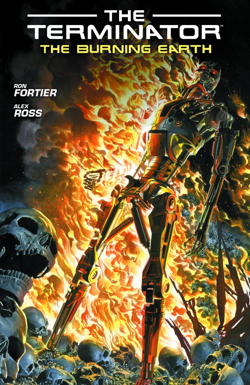 THE TERMINATOR: THE BURNING EARTH TP