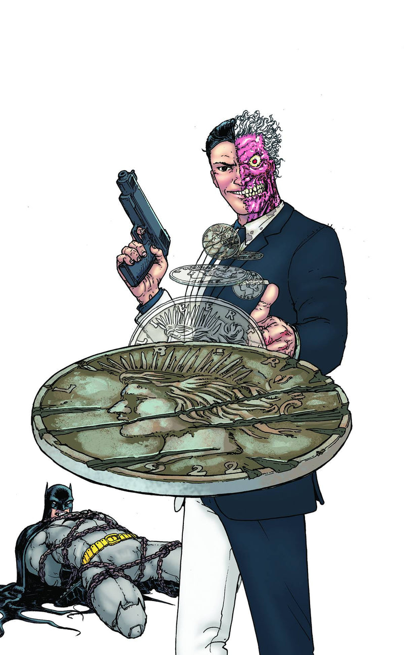 BATMAN AND ROBIN #23.1: TWO-FACE