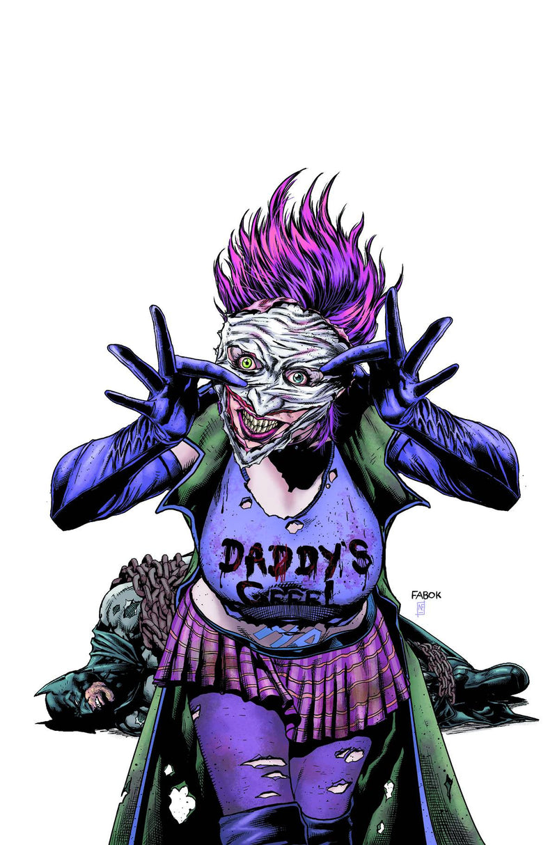 BATMAN: THE DARK KNIGHT #23.4: THE JOKER'S DAUGHTER