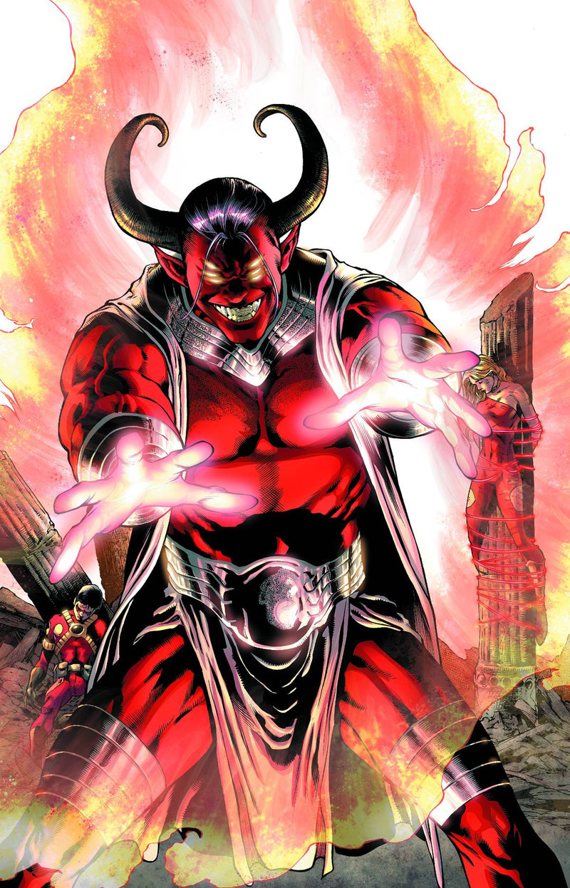 TEEN TITANS #23.1: TRIGON