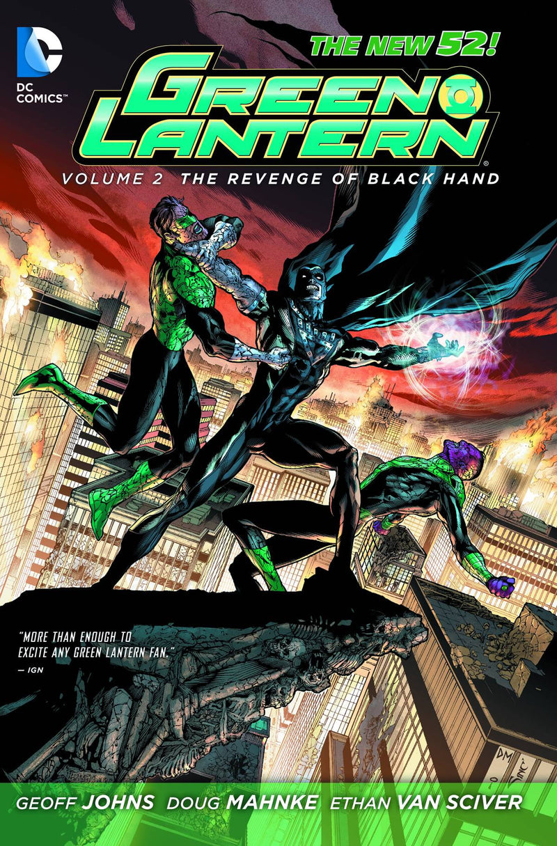 GREEN LANTERN TP VOL 02 REVENGE OF BLACK HAND