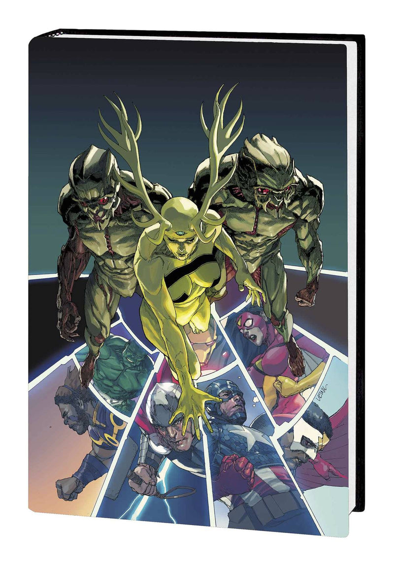 AVENGERS VOL. 3: INFINITY PRELUDE PREMIERE HC
