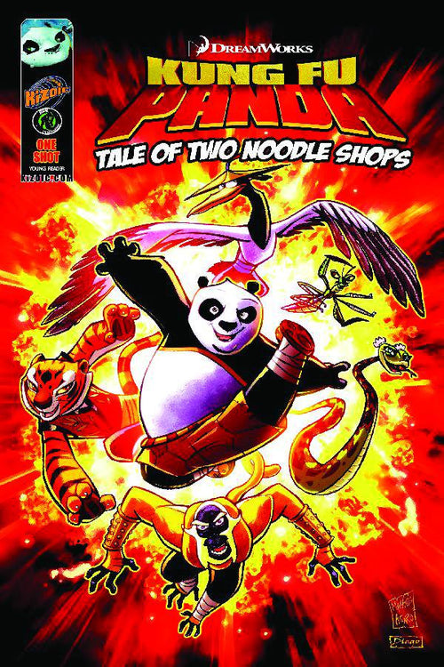KUNG FU PANDA: TALE OF TWO NOODLE SHOPS-ONE SHOT