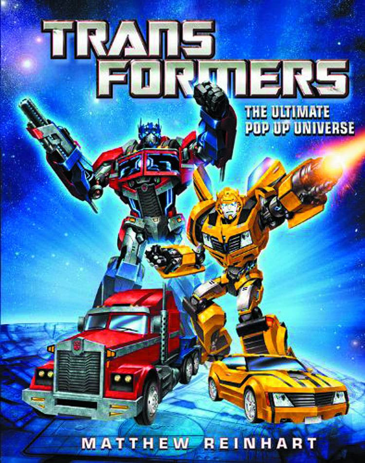 TRANSFORMERS: THE ULTIMATE POP-UP UNIVERSE HC
