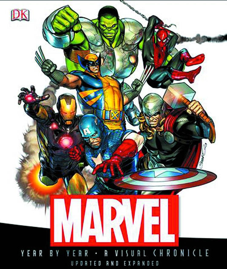 MARVEL COMICS: THE UNTOLD STORY HC