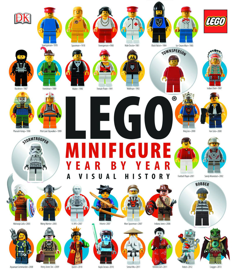 LEGO MINIFIGURE YEAR BY YEAR: A VISUAL CHRONICLE HC