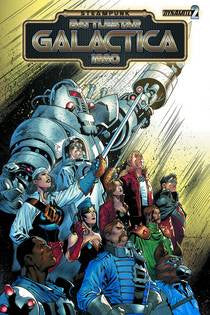 STEAMPUNK BATTLESTAR GALACTICA: 1880 #2 (OF 4)