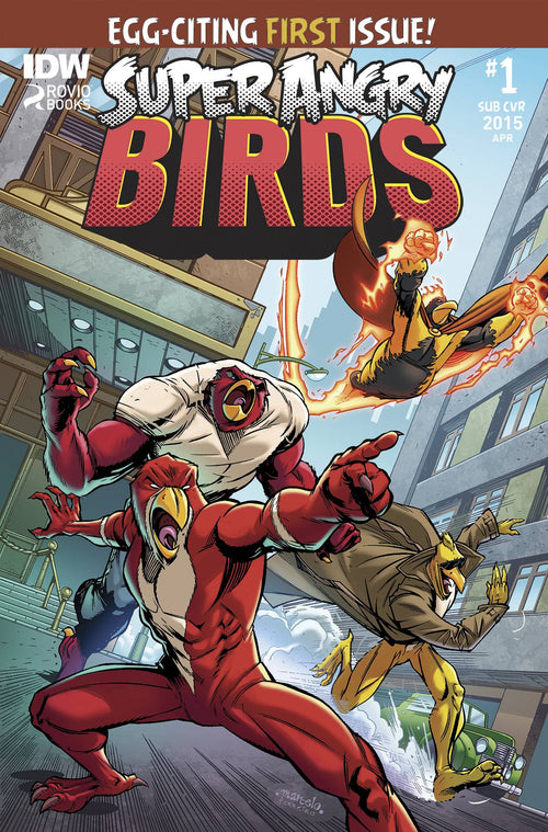Angry Birds: Super Angry Birds # 1 (of 4)