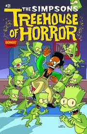 THE SIMPSONS TREEHOUSE OF HORROR #21