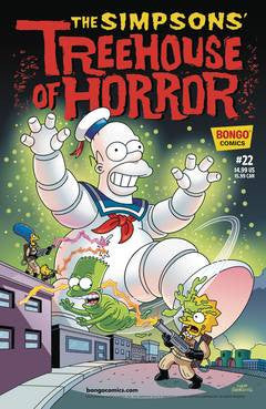 THE SIMPSONS TREEHOUSE OF HORROR #22