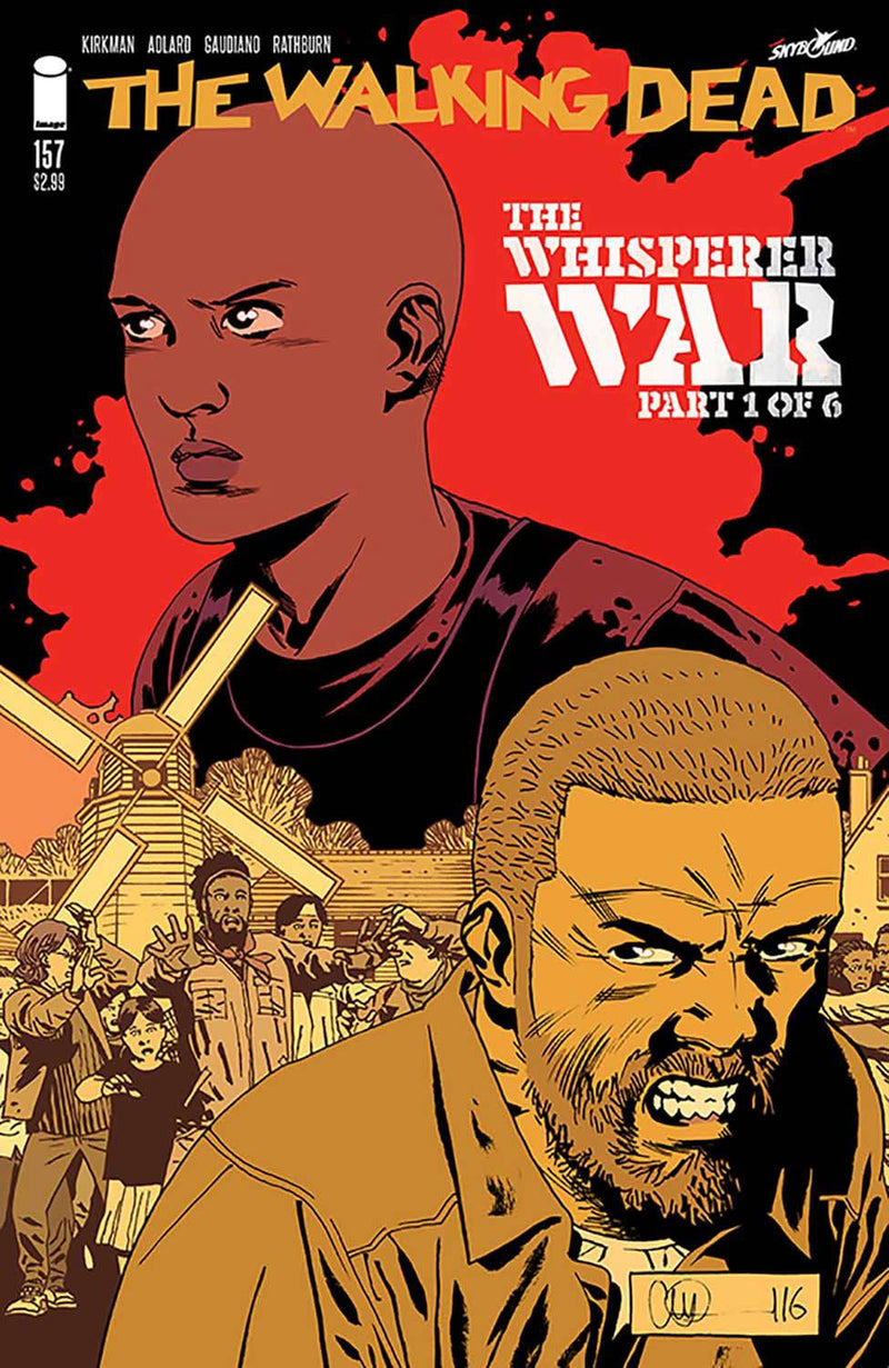 THE WALKING DEAD #157