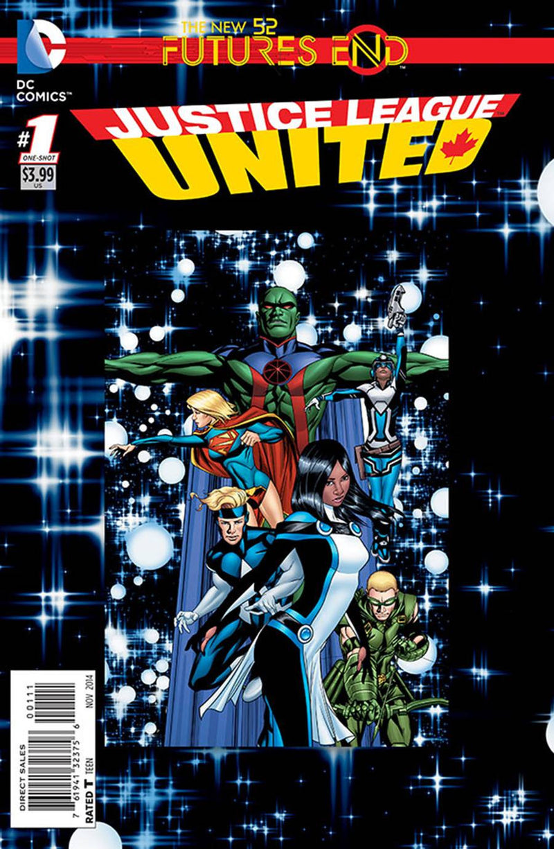 JUSTICE LEAGUE UNITED: FUTURES END #1