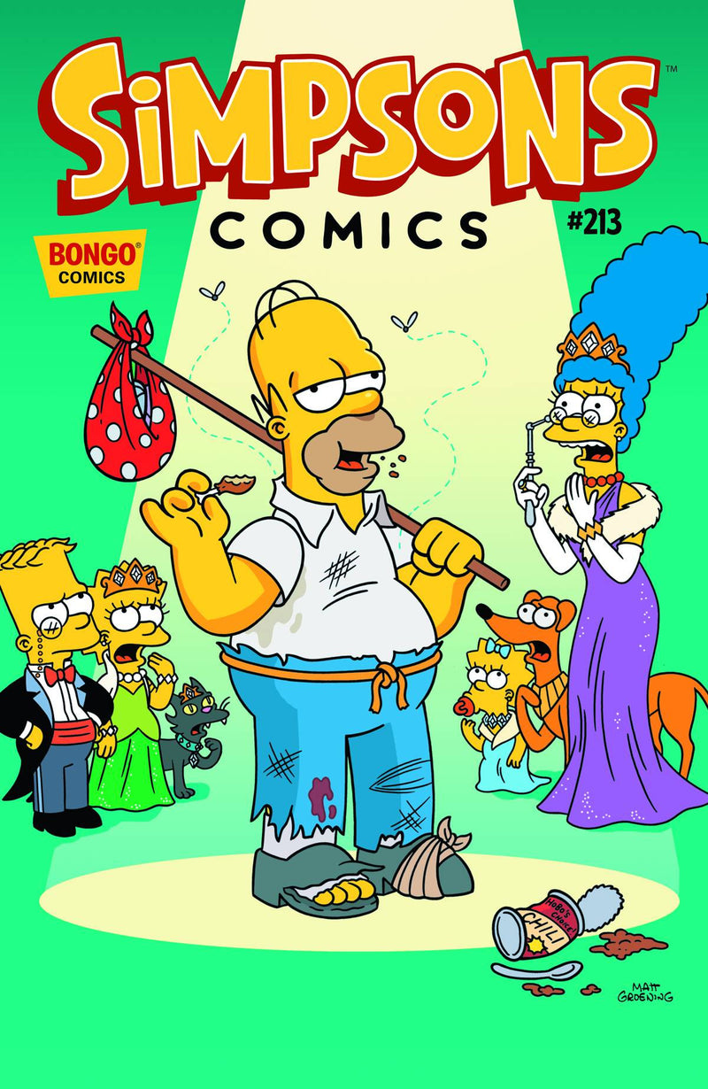 SIMPSONS COMICS #213
