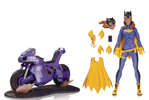 BATGIRL OF BURNSIDE  - DELUXE ACTION FIGURE