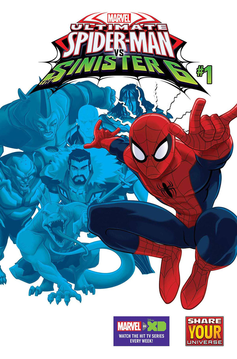 MARVEL UNIVERSE ULTIMATE SPIDER-MAN VS. THE SINISTER SIX #1 (of 4)