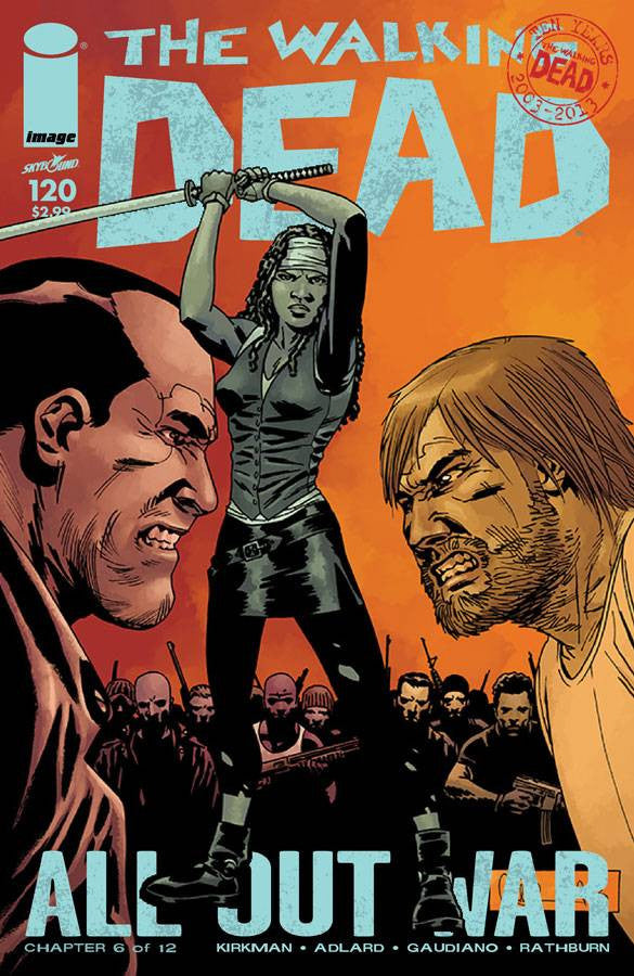 THE WALKING DEAD #120