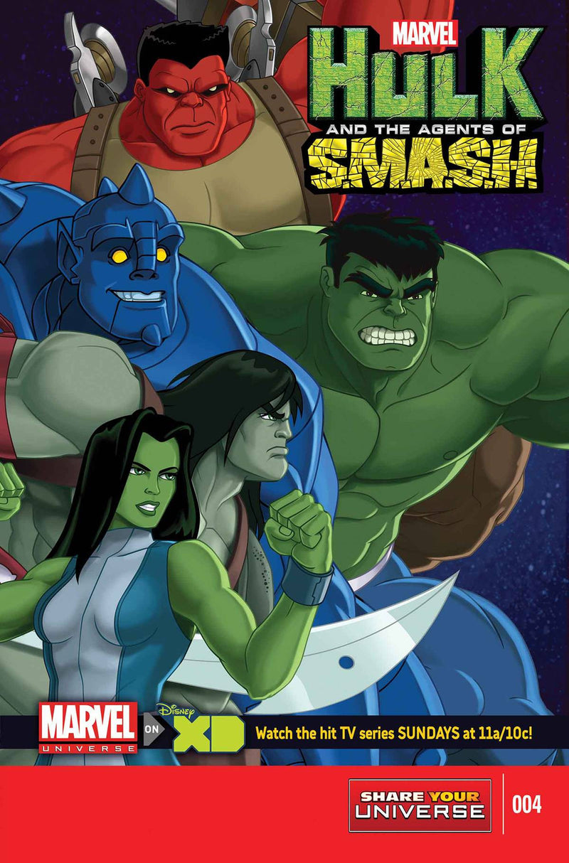 MARVEL UNIVERSE HULK: AGENTS OF S.M.A.S.H. #4 (OF 4)