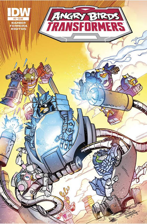 ANGRY BIRDS/TRANSFORMERS #3 (OF 4)
