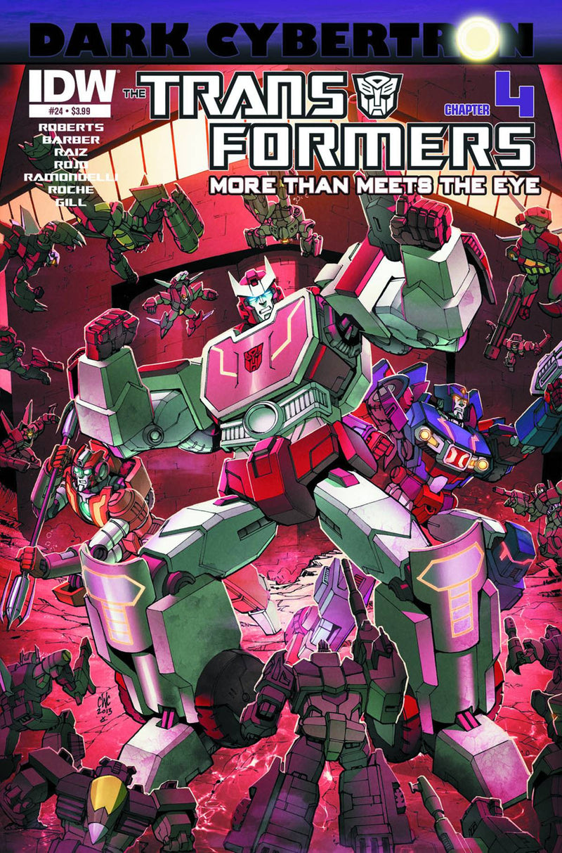 TRANSFORMERS: MORE THAN MEETS THE EYE #24: DARK CYBERTRON PART 4 (OF 12)