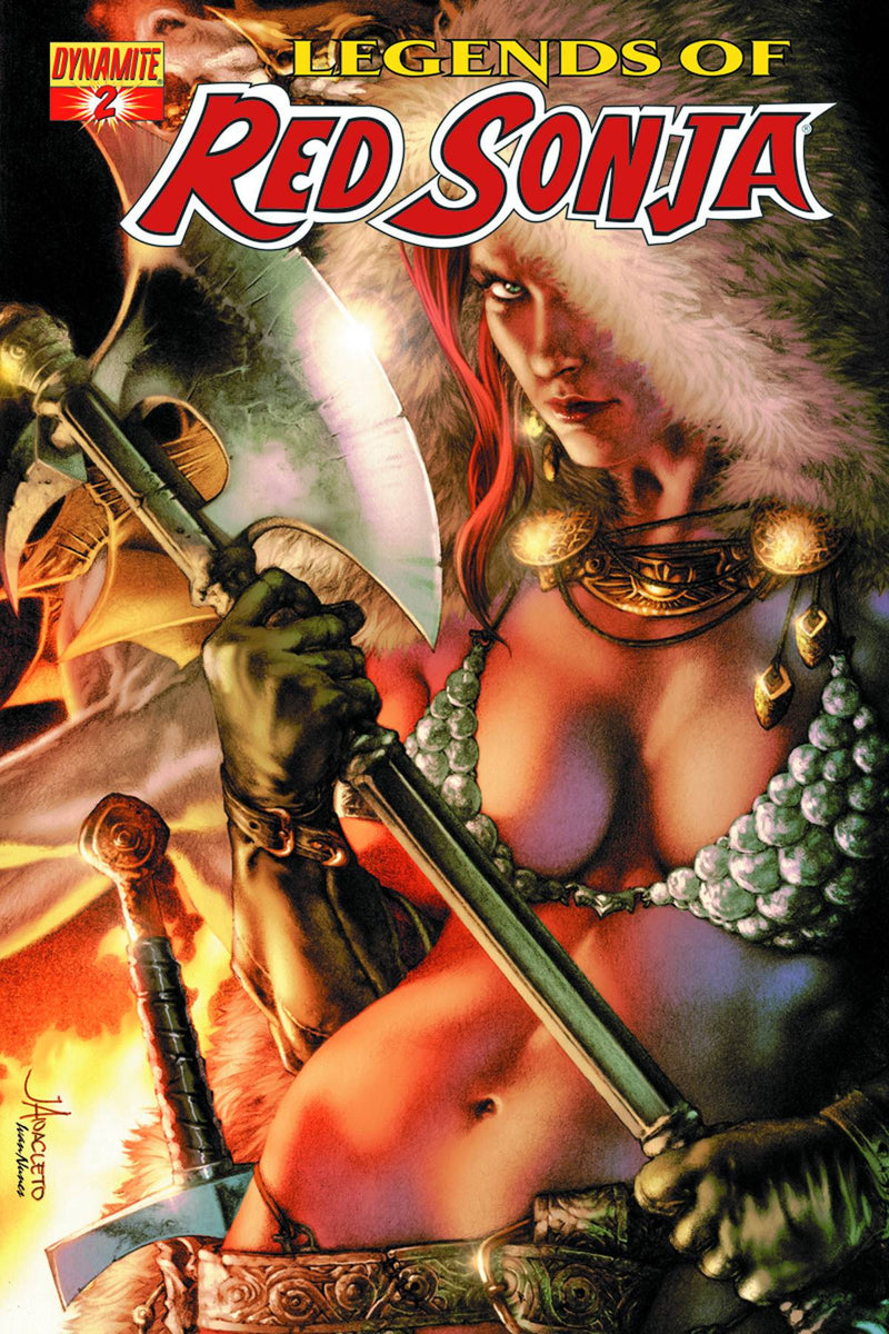 LEGENDS OF RED SONJA #2 (OF 5)