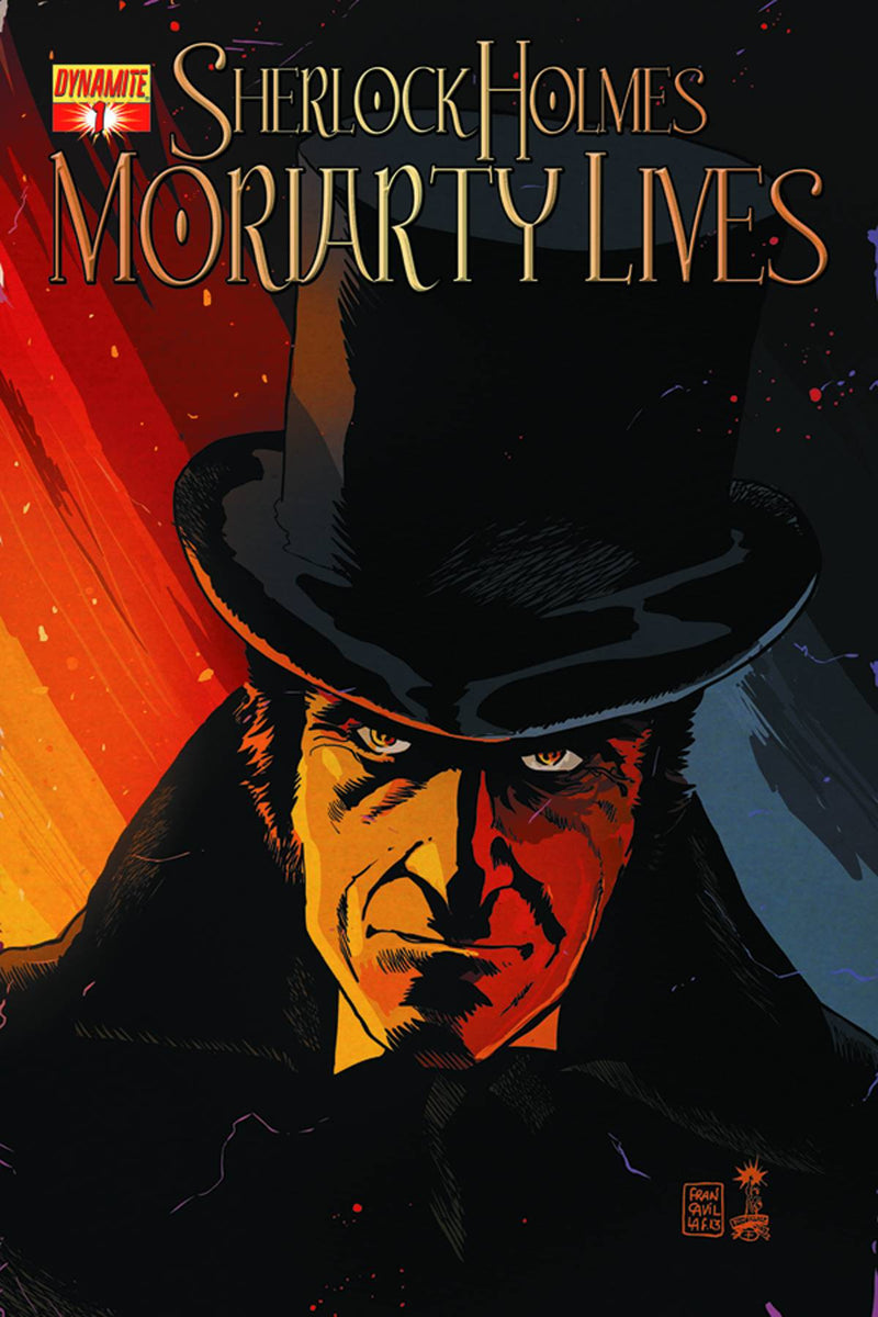 SHERLOCK HOLMES: MORIARTY LIVES #1 (OF 5)