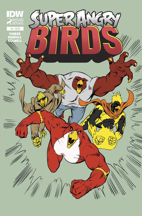 Angry Birds: Super Angry Birds # 4 (of 4)
