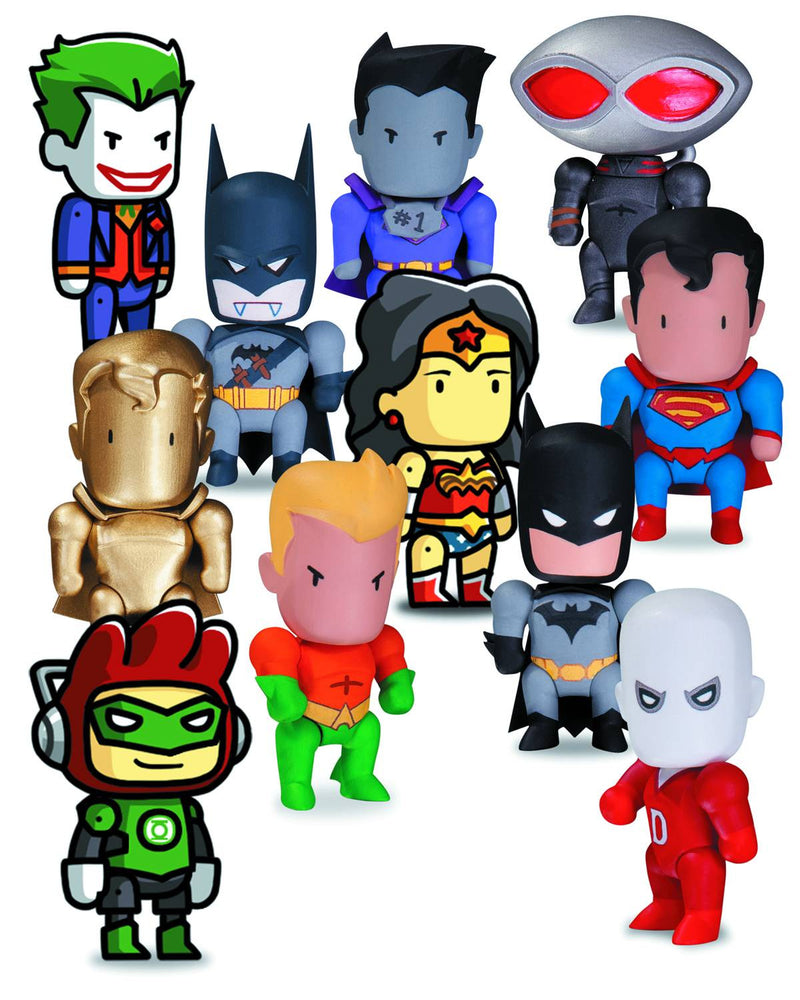SCRIBBLENAUTS: UNMASKED MINI FIGURES  SERIES 1