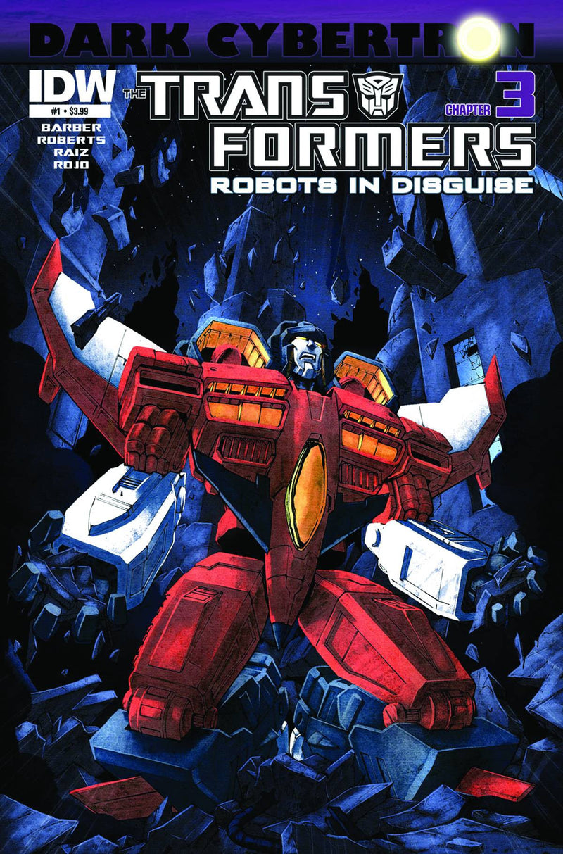 TRANSFORMERS: ROBOTS IN DISGUISE #23: DARK CYBERTRON PART 3 (OF 12)